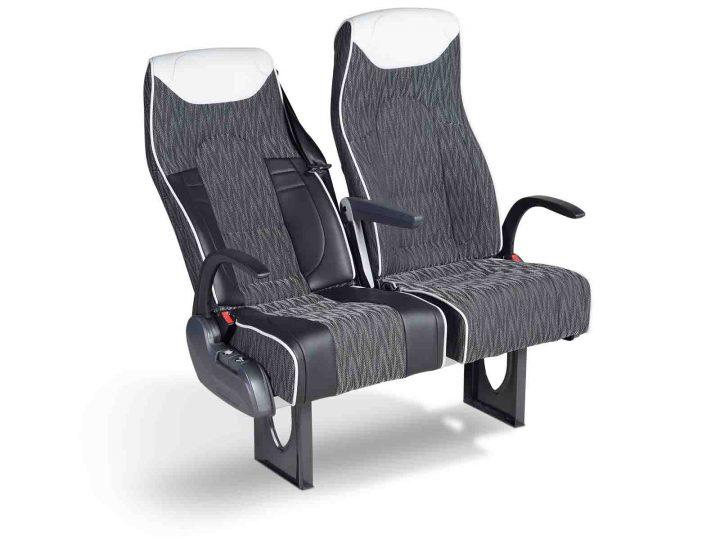 """Sitz """"LS30"""" für Reisebusse (Coach): Kontur mit Komfort und Bewegungsfreiheit"""