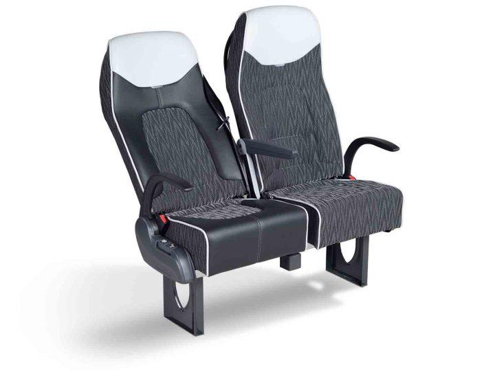 """Sitz """"LS40"""" für Reisebusse (Coach): Kontur mit Komfort und Bewegungsfreiheit"""