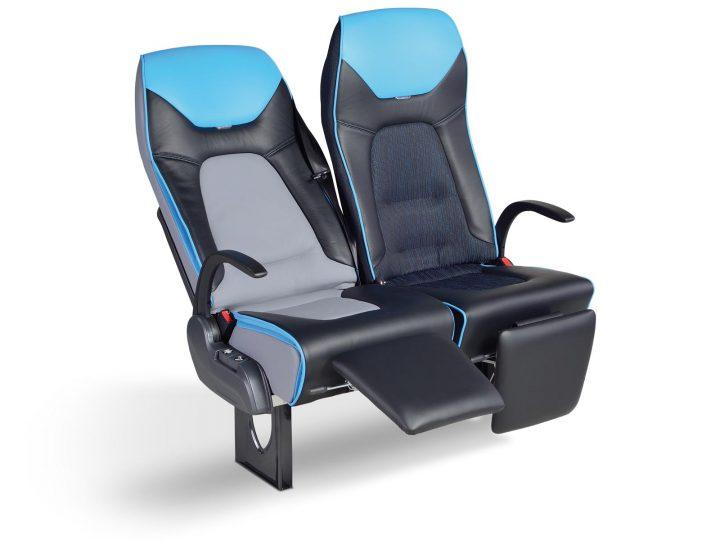 """Sitz """"LS60"""" für Reisebusse (Coach): der Fahrgastsitz des 21. Jahrhunderts"""