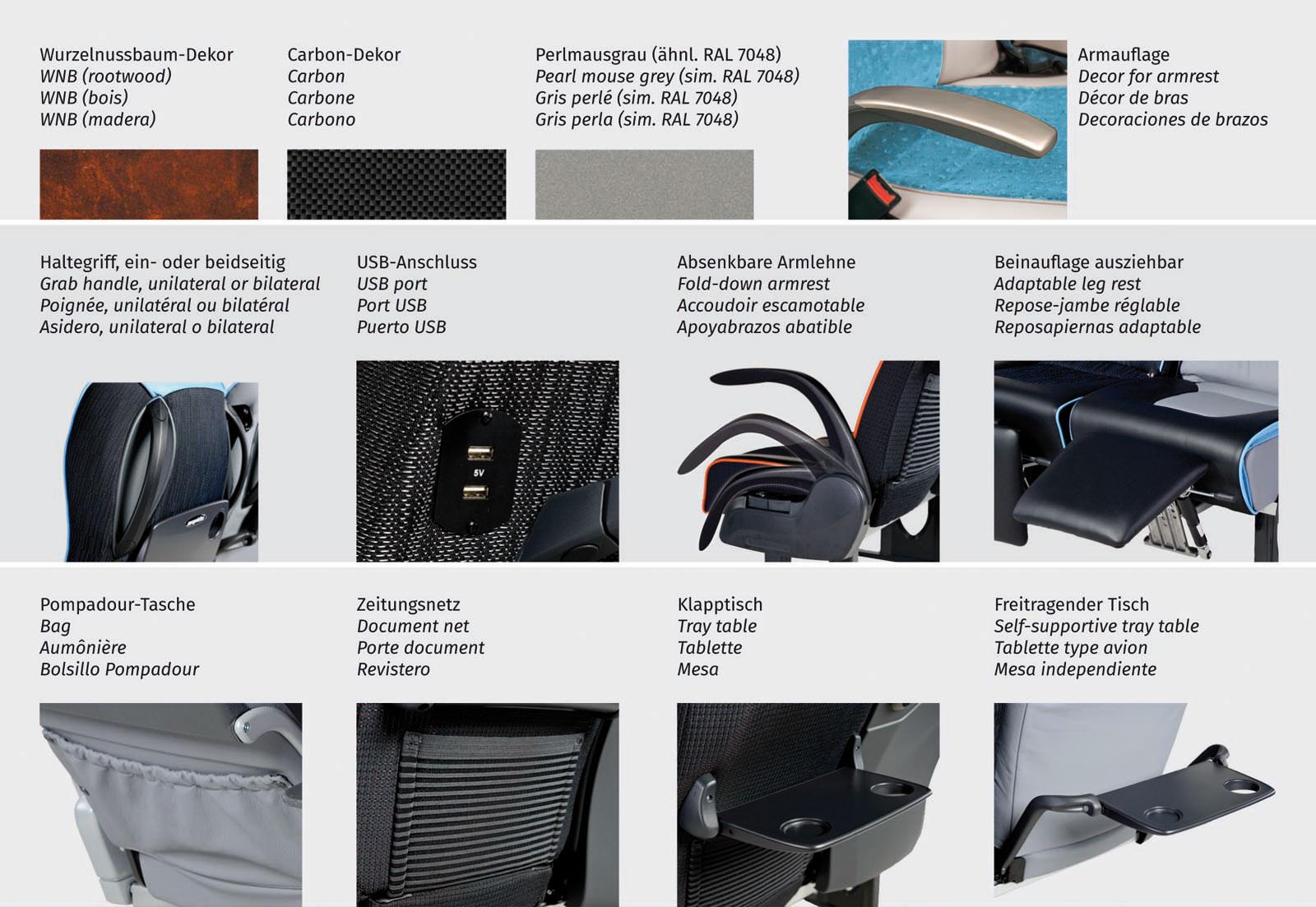 LS60 | Accessoires