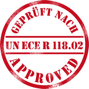 Approved UN ECE R 118.02